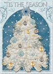 Elegant Snow Tree Boxed Cards
