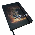 Embossed Celtic Horse Journal