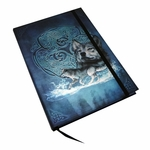 Embossed Celtic Wolf Journal