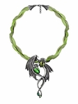 The Emerald Dragon Choker