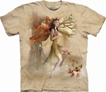 Fairy Forest Meadow-tee-shirt