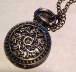 Fancy Pocket Watch Necklace