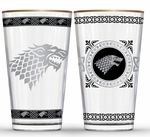 Fancy Stark Pint Glass Set: Game of Thrones