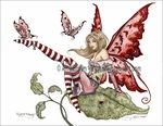 'Flirty Fairy' <BR>by Amy Brown