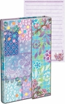 Floral Patterns Magnetic Flap Mini Journal