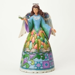 Follow Your Dreams Dragonfly Angel Figurine