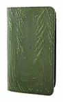 Forest Leather Checkbook Cover