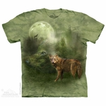 'Forest Spirit' Wolf T-Shirt