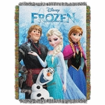 Disney's Frozen Tapestry Throw Blanket