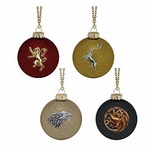 Game of Thrones House Sigil Glass Ball Ornaments
