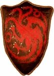 Game of Thrones Targaryen Dragon Throw Pillow