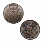 Aegon I Targaryen Copper Penny