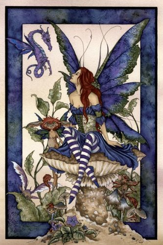 Garden Fairy Note Card Tin by Amy Brown from Tree Free