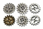 Gearwheel Buttons