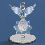 Glass Angel with Star