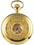 Gold Filigree Pocket Watch