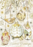 Golden Glow Christmas Cards