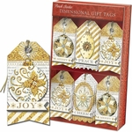 Golden Ornament Gift Tags