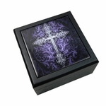 Gothic Cross Tile Box