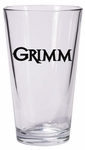Grimm Skull Logo Pint Glass