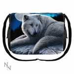 Guardian of the North Wolf Messenger Bag