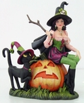 Hallow Witch Figurine