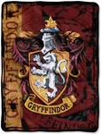 Harry Potter Gryffindor Battle Flag Throw Blanket