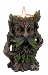 Hear No Evil Greenman Candleholder