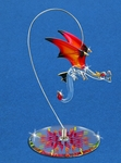 'Hellfire' Glass Dragon