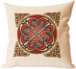 Hilton Celtic Woven Cushion Cover