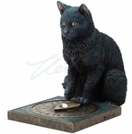 His Master's Voice Cat Statue