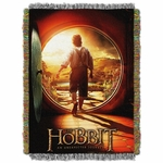 Hobbit Journey Tapestry Throw Blanket
