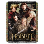 The Hobbit Tapestry Throw