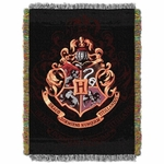 Hogwarts Crest Tapestry Throw
