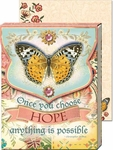 Hope Butterfly Pocket Note Pad