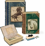 Horses Small Nesting Book Boxes
