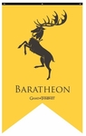 House Baratheon Banner - Game of Thrones