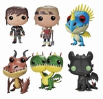 PoP How To Train Your Dragon Figure Set