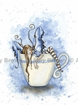 'I Need Coffee Fairy' <BR>by Amy Brown