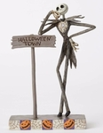 Jack Skellington & Halloweentown Sign