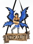Keep out Fairy Plaque