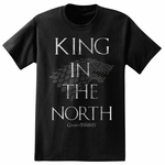 King in the North T-Shirt: Game of Thrones