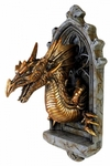 The Laidly Dragon Relic Wall Mount