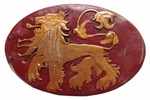 Lannister Shield Pin: Game of Thrones