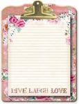 Lovely Letters Clipboard & Notepad Set