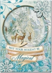 Magic Snowglobe Christmas Cards
