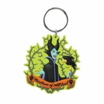 Maleficent & Crow Key Chain