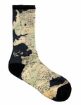 Map of Westeros Socks: Game of Thrones