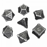 Metal Mythical Dice Set