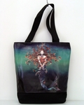 Metamorphosis Mermaid Tote Bag